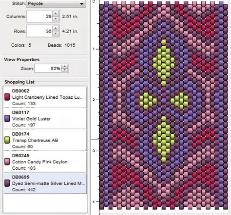 how to do peyote stitch beading imaginesque beading peyote stitch pattern 16