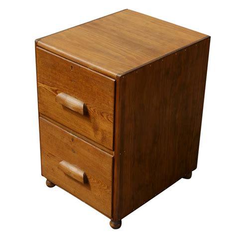 two drawer file cabinets two drawer file cabinet mid century two drawer oak