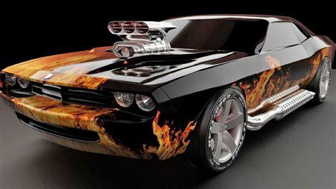 Car Wallpaper 1440x900 by Flames Cars Cars Chevrolet Vehicles 1440x900