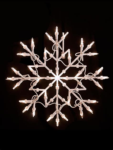 snowflake lights indoor light shapes window snowflake merry