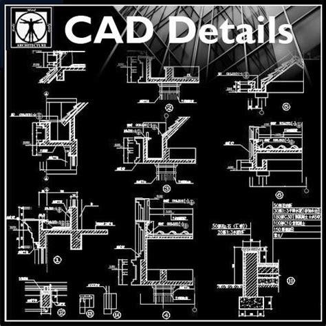 Designer Kitchen Doors architecture details collection cad design free cad