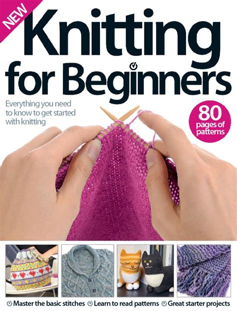 knitting for beginners knitting for beginners digital magazine discountmags