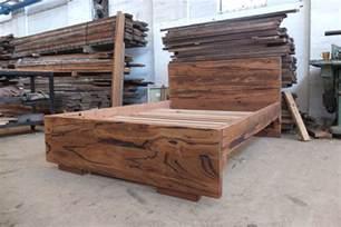 timber bed frames reclaimed timber bed frames custom made tim t design