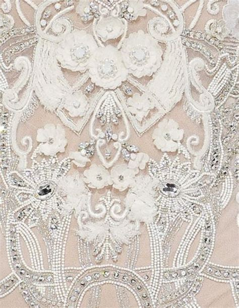 haute couture beading pin by marion der fluit on broderie d history