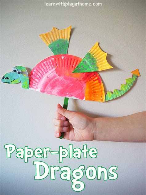 arts and crafts with paper plates learn with play at home simple paper plate craft