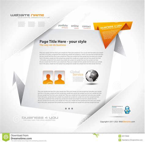 origami websites for origami website design stock photo image 20173560