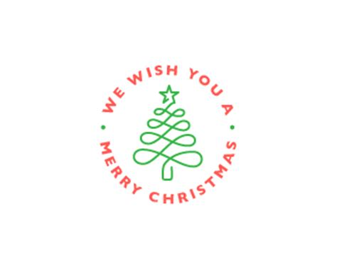 20 best christmas logo designs for inspiration