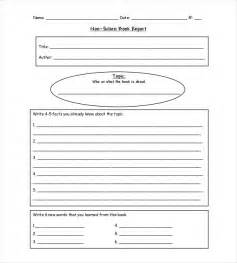 picture book report 10 book report templates free sle exle format