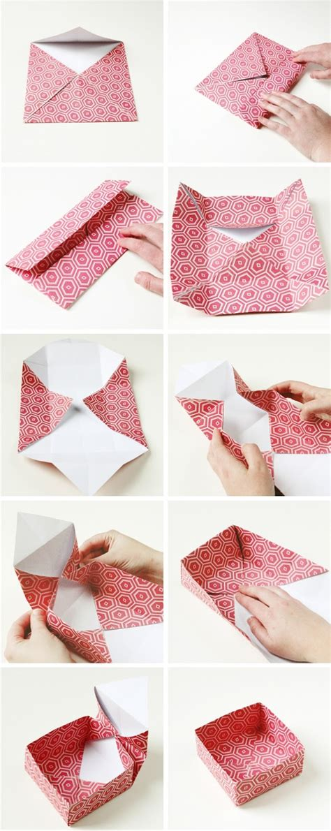 how to make a gift box out of card diy origami gift boxes gathering