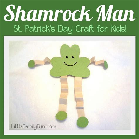 st day crafts for family shamrock st s day craft