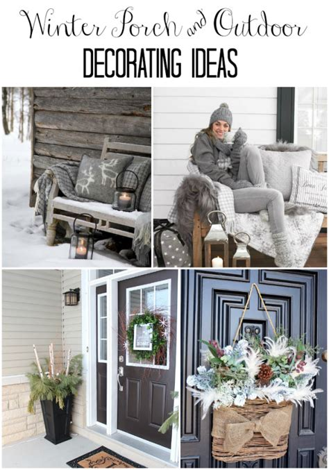 winter home decorating ideas winter decor ideas for the home