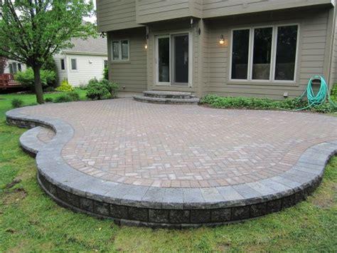 raised paver patio designs brick doctor bill june 2011 garden ideas