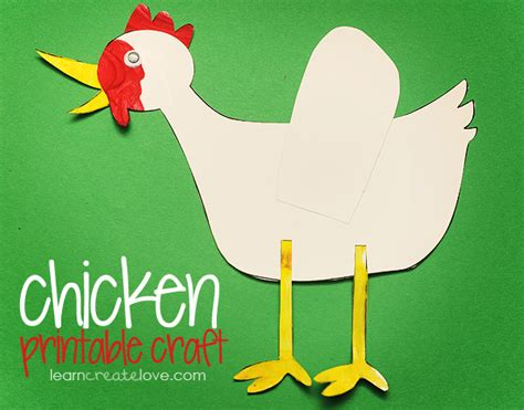chicken crafts for the gallery for gt rooster crafts for preschoolers