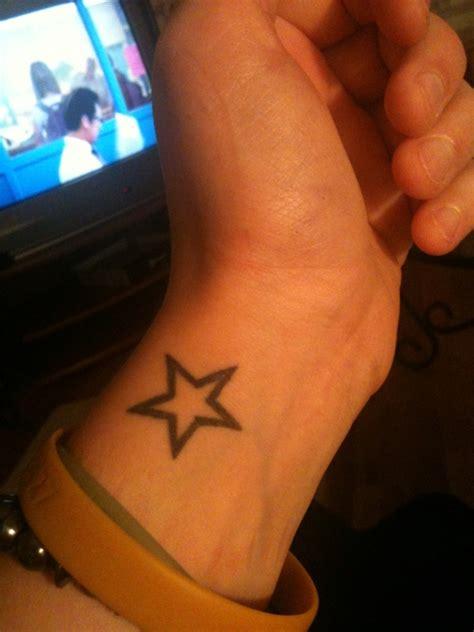 82 fantastic wrist stars tattoos