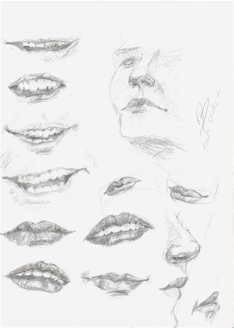 how to draw mouths how to draw and teeth significant