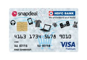 make my trip hdfc card offer snapdeal hdfc bank credit card get cashback on everyday