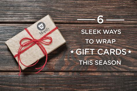 top 28 ways to wrap gift cards for creative