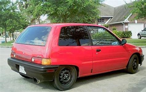 1988 Daihatsu Charade by Daihotsu 1988 Daihatsu Charade Specs Photos Modification