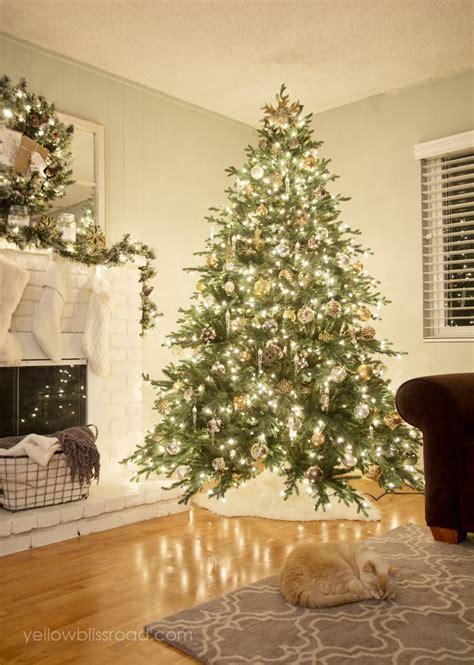 how to decorate a real tree 25 best ideas about real tree on