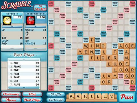 downloadable scrabble scrabble version