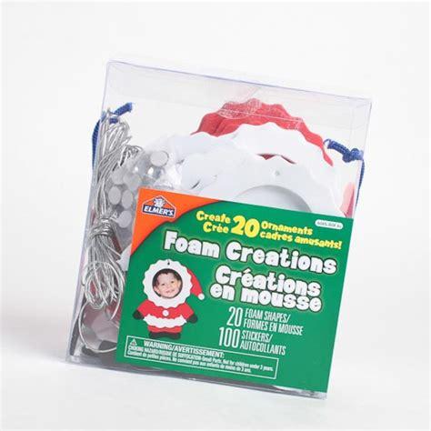 foam craft kits for craft foam santa photo frame ornaments kit craft