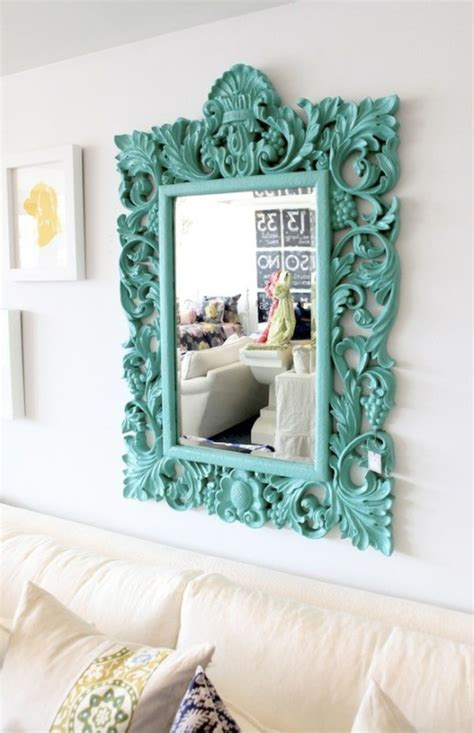 spray painting mirror frame 5 me up spray paint projects