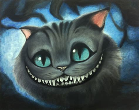 cheshire cats painting cheshire cat painting finished by silwe on deviantart