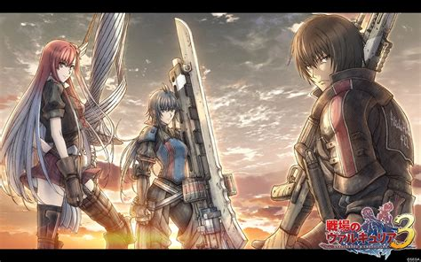 valkyria chronicles valkyria chronicles 3 psp otaku gamers uk