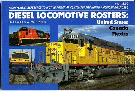 locomotive picture book diesel locomotive rosters united states canada mexico new