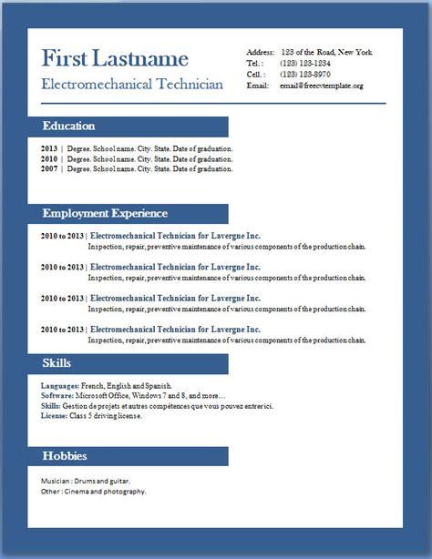doc 612790 7 free resume templates bizdoska com