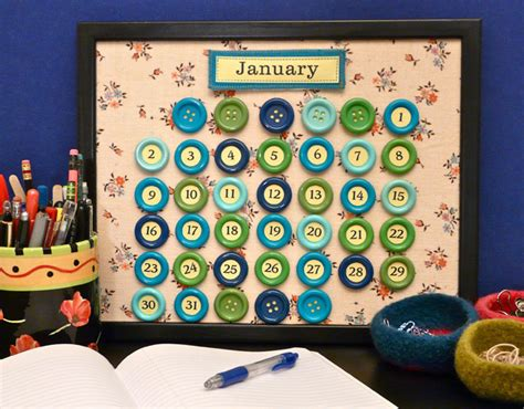 calendar craft projects some really cool perpetual calendar crafts for the new