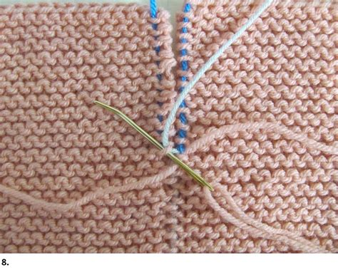 invisible join knitting garter stitch seams invisible join how tos with photos
