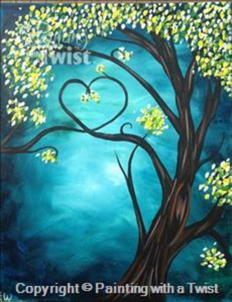 paint with a twist ideas painting with a twist quot tree quot in at painting