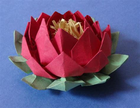 how to make origami lotus 25 unique paper lotus ideas on lotus origami