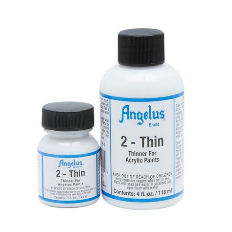 acrylic paint additives 2 thin for mixing in angelus paints for airbrush
