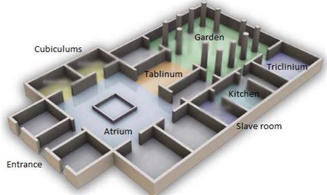pompeian house plan pompeian house plan y7 lat plan of a pompeian house