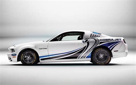 Ford Mustang Cobra Jet by Ford Mustang Cobra Jet Concept Gets Turbo 5 0l V 8