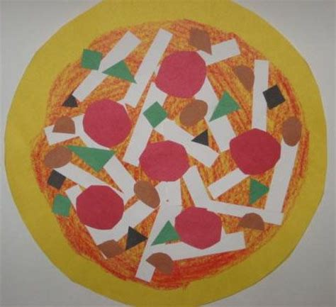 pizza crafts for 25 best ideas about shape crafts on preschool
