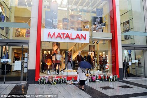 knitting shop cardiff matalan colleagues in cardiff lay floral tributes to
