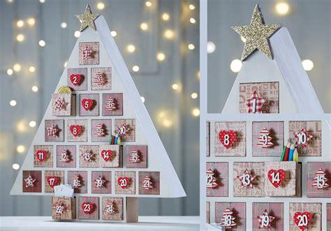 advent calendar craft for traditional advent calendar tree hobbycraft