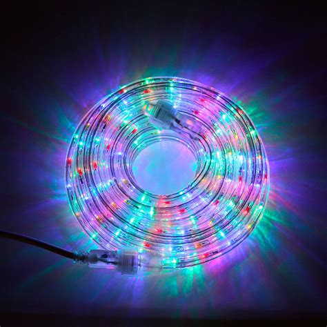 multicolor led light lights string lights rope lights plasma