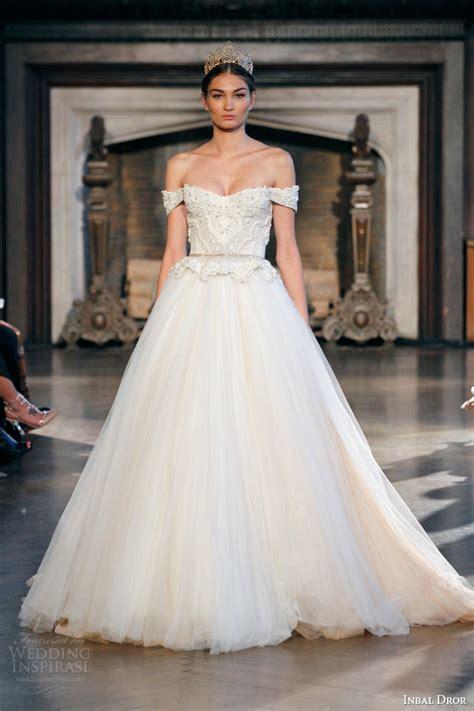 wedding gown inbal dror fall 2015 wedding dresses wedding inspirasi
