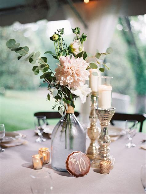 simple centerpiece ideas best 25 garden wedding centerpieces ideas on