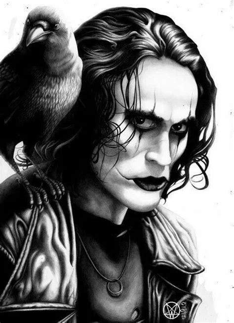 quot the crow quot with brandon lee brandon lee the crow