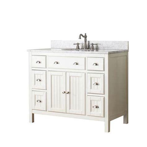 42 inch bathroom vanity with top hamilton white 42 inch vanity combo with white