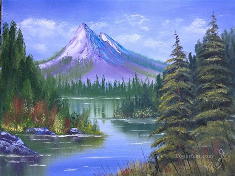 bob ross painting exles mountains bob ross freehand landscapes painting in