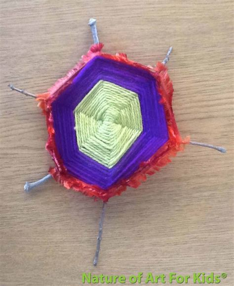 string crafts for twig stick string craft projects for