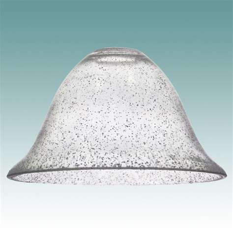 seed glass 7846 clear seeded glass bell shade glass lshades