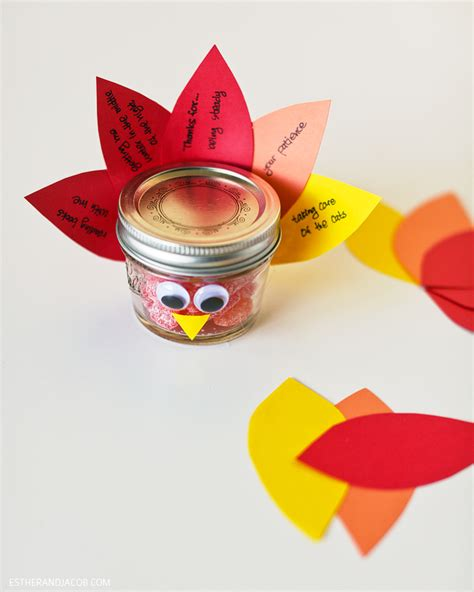 diy thanksgiving crafts thanksgiving crafts diy jar turkey gratitude week 11