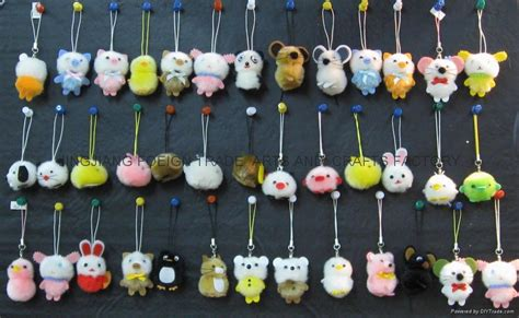 small crafts for small pom pom kity china manufacturer stuffed